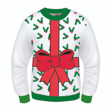 All Wrapped Up Adult Christmas Sweater SALE