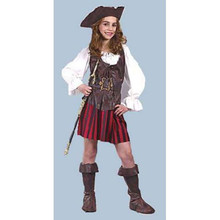 Pirate High Seas Girl Child Costume