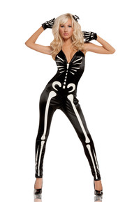 Sexy Skeleton Costume Adult