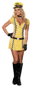 Tina Taxi Driver Costume Adult XL