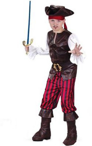 HIGH SEAS BOY BUCCANEER COSTUME