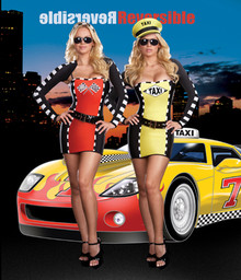 Drive Me Crazy Racer Adult Costume