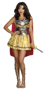 Golden Gladiator Costume Adult
