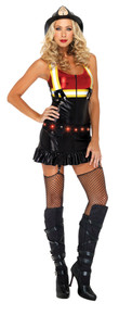 Hot Spot Firewoman Adult Costume