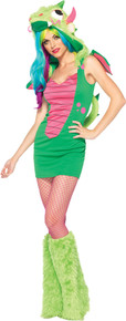 Magic Dragon Costume Adult XS 0-2