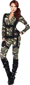 Pretty Paratrooper Costume Adult