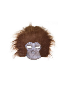 Plush Chimp Mask