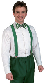 Green Clown Suspenders