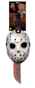 Jason Voorhees Mask & Machete Set