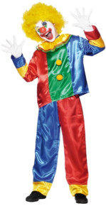 Clown Boy Child Costume