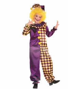 Tic Tac Clown Costume Child