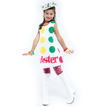 Twister Girl Costume Child Small