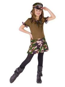Major Trouble Costume Child
