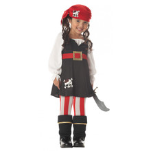 Precious Lil' Pirate Costume Toddler 3T-4T