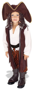Yarn Babies Pirate Costume Toddler 2-4