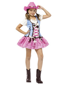 Rodeo Sweetie Cowgirl Costume Child