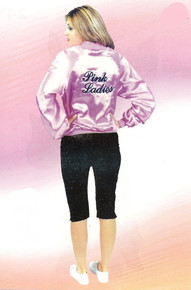 Pink Ladies Jacket Deluxe Adult