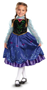 Anna Frozen Deluxe Costume Child