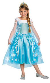 Elsa Frozen Deluxe Costume Child