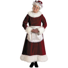 Mrs Claus Costume Deluxe Adult