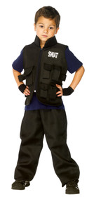 Swat Team Costume Child