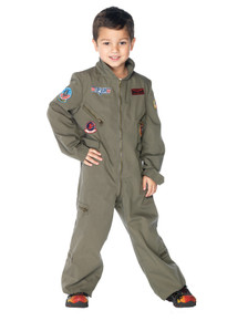Top Gun Flight Suit Child