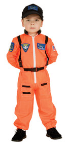 Astronaut Orange Costume Child