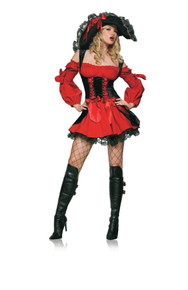 Vixen Pirate Wench Costume Adult