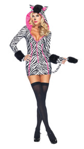 Zebra Savannah Costume Adult