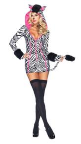 Zebra Savannah Costume Adult