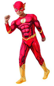 Flash Costume Muscle Child