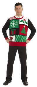 Christmas Sweater Jolly Holiday Adult