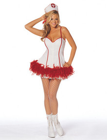 The Fluffer Nurse Costume*Clearance*