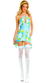 Go Go Outfit Adult Costume Small/Medium
