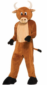 Bull The Brutus Mascot Costume Adult
