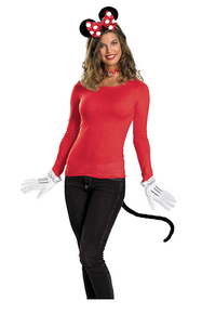 Minnie Mouse Kit Red Adult