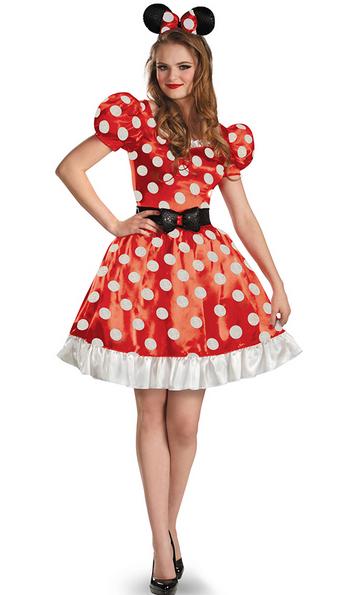 Minnie Mouse Adult Oversize Jumbo Ears And Headband Halloween Disguise