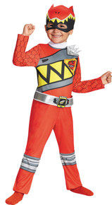 Power Ranger Dino Charge Child Costume Red Toddler