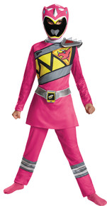 Power Ranger Dino Charge Classic Child Costume Pink