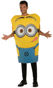 Minion Dave Pullover Costume Adult Std