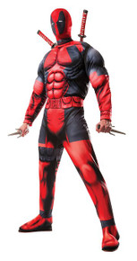 Deadpool Muscle Chest Costume Adult