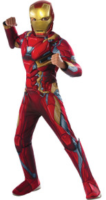 Iron Man Civil War Costume Child