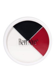Red White & Black Makeup Wheel .5oz