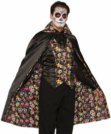 Men's Day Of The Dead Cape
