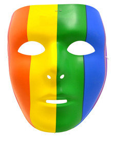 Rainbow Full Face Mask