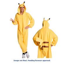 Pikachu Onesie Costume Adult