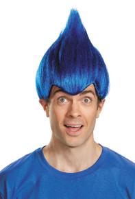 Troll Wig Wacky Dark Blue