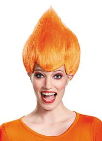 Troll Wig Wacky Orange