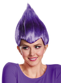 Troll Wig Wacky Purple