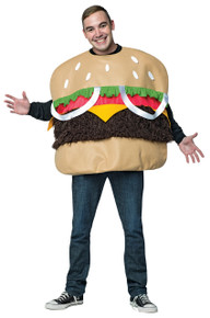 Fur Burger Costume Adult